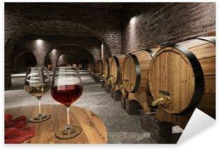 Pixerstick till Allt Ancient vinkällare