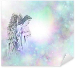 Pixerstick Dekor Ängel på mjuka dimmiga bokeh ram bakgrund