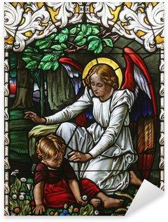 Pixerstick Dekor Ängel väktare
