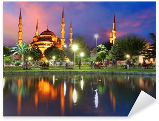 Pixerstick Dekor Blå moskén i Istanbul - Turkiet