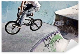 Pixerstick Dekor BMX im Skatepark