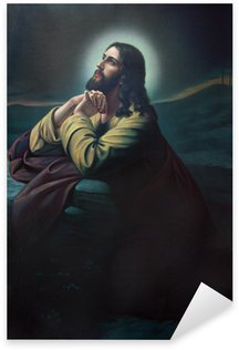 Pixerstick Dekor Bön Jesus i Getsemane trädgård.
