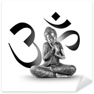 Pixerstick Dekor Buddha och Wellness