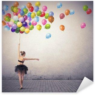 Pixerstick till Allt Dansare med ballonger