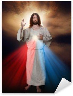 Pixerstick Dekor Divine Mercy Bild
