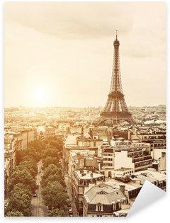 Pixerstick till Allt Eiffel från Triumfbågen