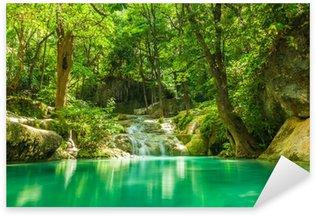 Pixerstick till Allt Erawan vattenfall.
