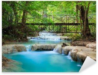 Pixerstick till Allt Erawan Waterfall, Kanchanaburi, Thailand