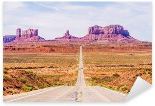 Pixerstick till Allt Fallande till Monument Valley på Utah Arizona gränsen