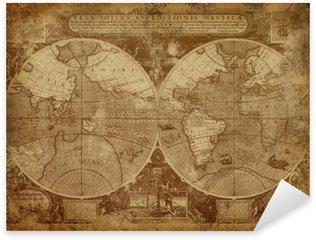 Pixerstick till Allt Gammal världskartan