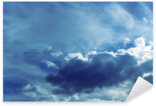 Pixerstick Dekor Himmel bakgrund med moln