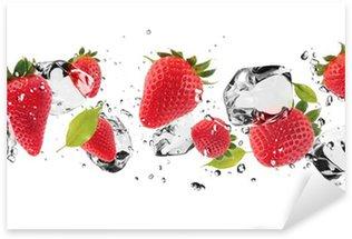 Pixerstick till Allt Ice frukt på vit bakgrund