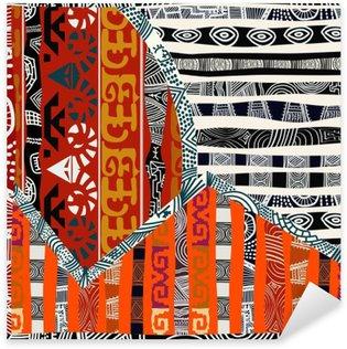 Pixerstick till Allt Indian stam- sömlös pattern.Vector illustration