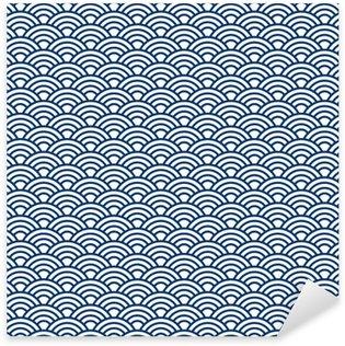 Pixerstick Dekor Japan mönster