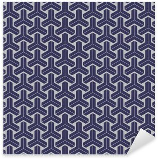 Pixerstick Dekor Japanska geometrisk seamless konstruktion konsistens