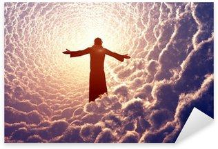 Pixerstick Dekor Jesus i molnen.