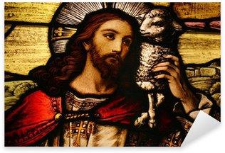 Pixerstick Dekor Jesus med lamm