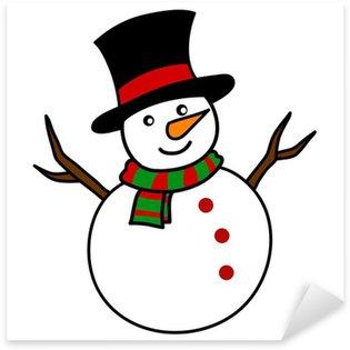 Pixerstick till Allt Jul Snowman tecknad.