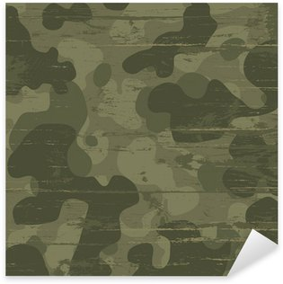Pixerstick Dekor Kamouflage militär bakgrund. Vektor, Illustration, EPS10