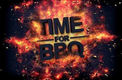 Pixerstick till Allt Konstnärlig dramatisk affisch för - Tid för BBQ