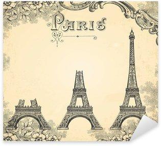 Pixerstick till Allt Konstruktion av Eiffeltornet