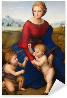 Pixerstick till Allt Madonna av ängen av Rafael (1505)