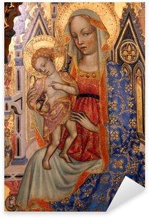 Pixerstick Dekor Madonna med barn