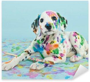 Pixerstick till Allt Målad Puppy