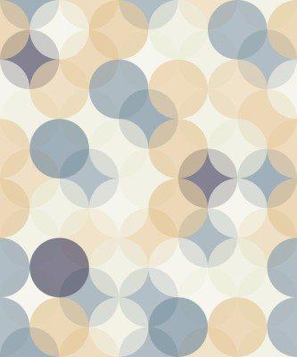 Pixerstick till Allt Modern vektor seamless färgrik geometri mönster cirklar, färg abstrakt geometrisk bakgrund, tapet print, retro textur, hipster modedesign, __