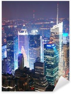 Pixerstick till Allt New York Manhattan Times Square skyline flygfoto