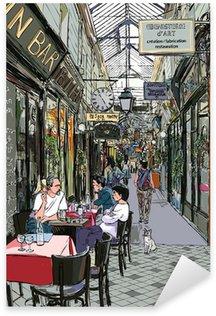 Pixerstick till Allt Passage i Paris