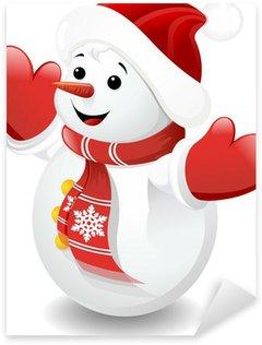Pixerstick till Allt Pupazzo di Neve Bambino-Baby Snowman-vektor