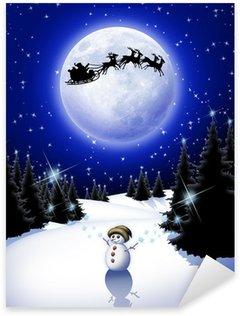 Pixerstick till Allt Pupazzo di Neve-Magic Snowman-Bonhomme de Neige