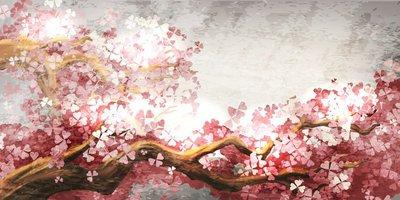 Pixerstick till Allt Sakura gren blomning