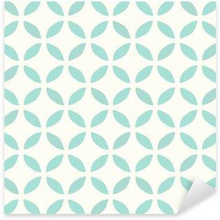 Pixerstick Dekor Seamless mönster. Handritad. Blomma. bakgrund design