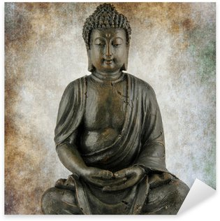 Pixerstick Dekor Sitzender buddha