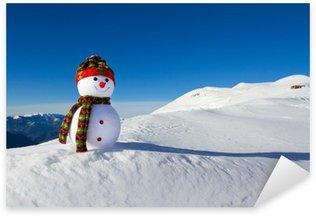 Pixerstick till Allt Snowman i e snö
