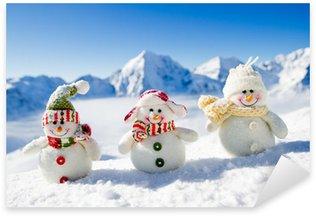 Pixerstick till Allt Snowman - lycklig vinter vänner