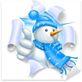 Pixerstick till Allt Snowman ok rem