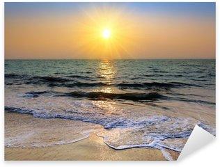 Pixerstick till Allt Solnedgång över havet