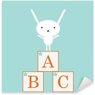 Pixerstick till Allt Söt kanin med ABC leksaker