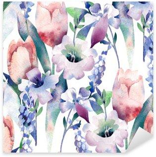 Pixerstick Dekor Spring Bouquet Seamless