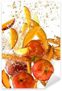 Pixerstick till Allt Stänk av färska äpplen och mango