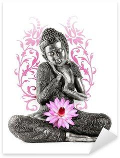 Pixerstick Dekor Staty de Bouddha