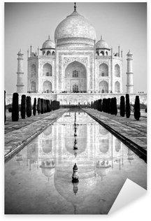 Pixerstick Dekor Taj Mahal, Agra, Uttar Pradesh, Indien.
