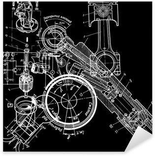 Pixerstick till Allt Teknisk ritning