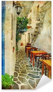 Pixerstick till Allt Traditionella grekiska tavernor-konstnärlig bild