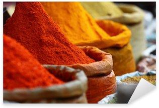 Pixerstick till Allt Traditionella kryddor marknaden i Indien.