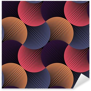 Pixerstick Dekor Utsmyckade geometriska Petals Grid, abstrakt vektor sömlösa mönster