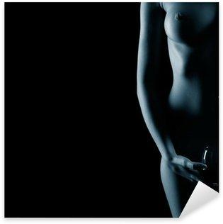 Pixerstick Dekor Vacker naken kvinna